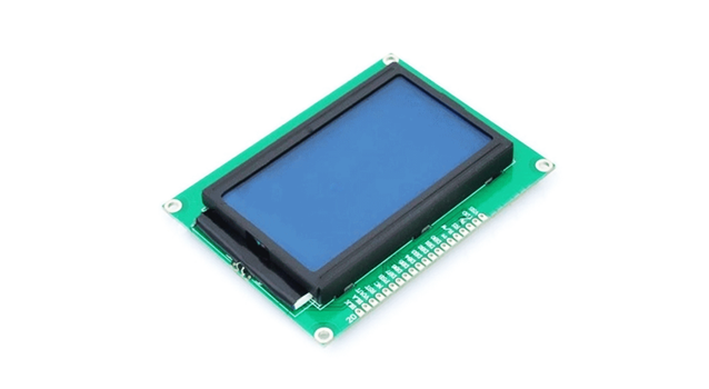 Display Gráfico Lcd 128x64 St7920 Arduino E Cia