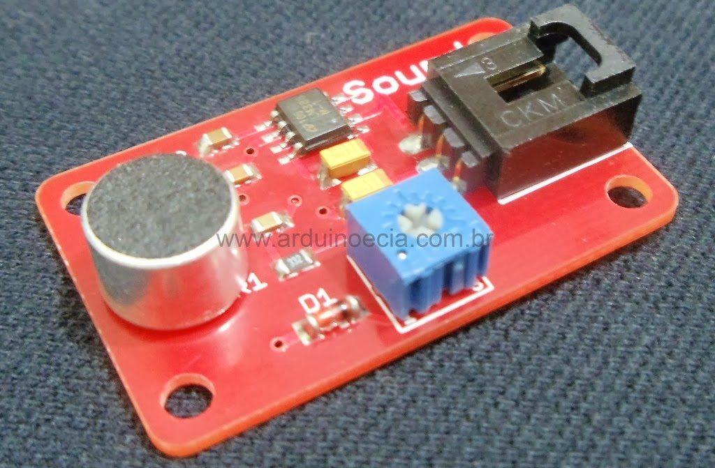 Como Usar O Sensor De Som Arduino Arduino E Cia