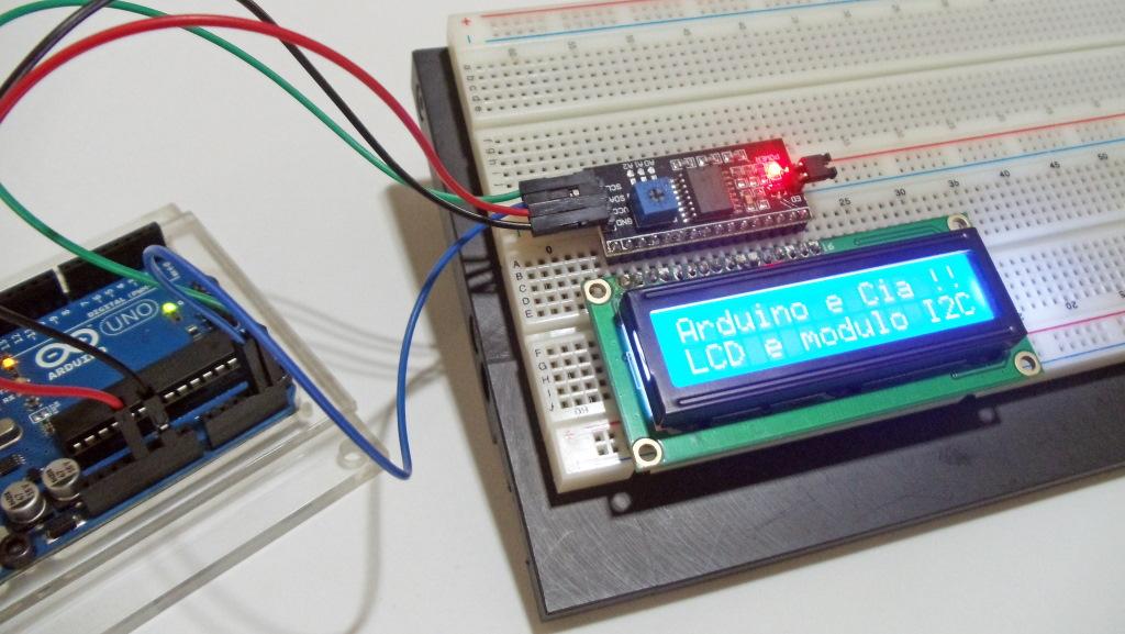Como utilizar o módulo I2C com display LCD | Arduino e Cia