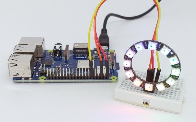 Led endereçável RGB (Neopixel) com Raspberry Pi | Arduino e Cia